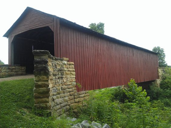 Mary's River Covered Bridge- Randolph County IL