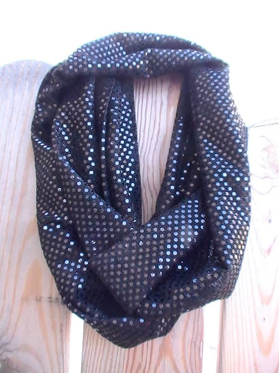 READY TO SHIP Black Long Dressy Dots by tammylynnscreations, $22.00