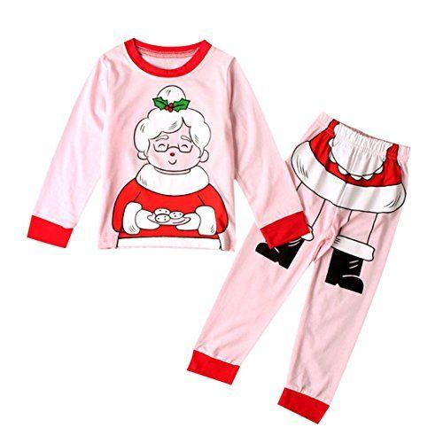 Unisex Baby Toddler Novelty Christmas Pyjama PJ Set 100/% Cotton Ages 6-24 Months