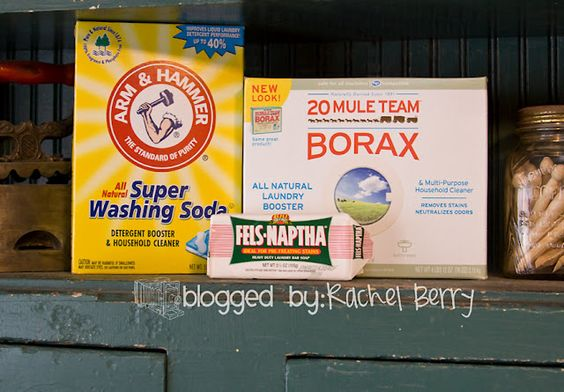 Homemade Laundry Detergent including recipe for a smaller batch