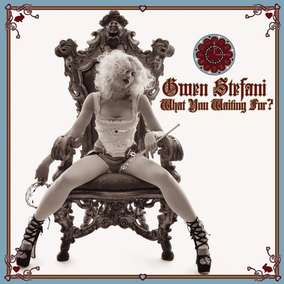 Gwen Stefani – What You Waiting For? (single cover art)