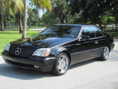 1997 Mercedes Benz S600 V12 Coupe With Images Mercedes Benz