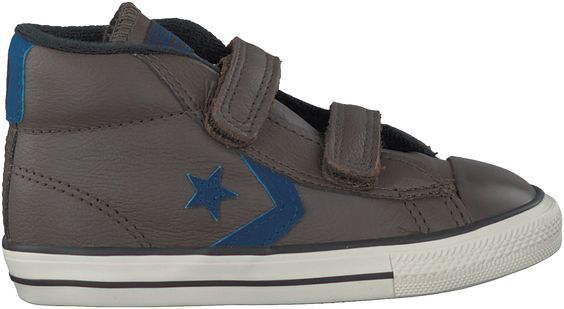 Bruine Converse Sneakers STAR PLAYER MID 2V