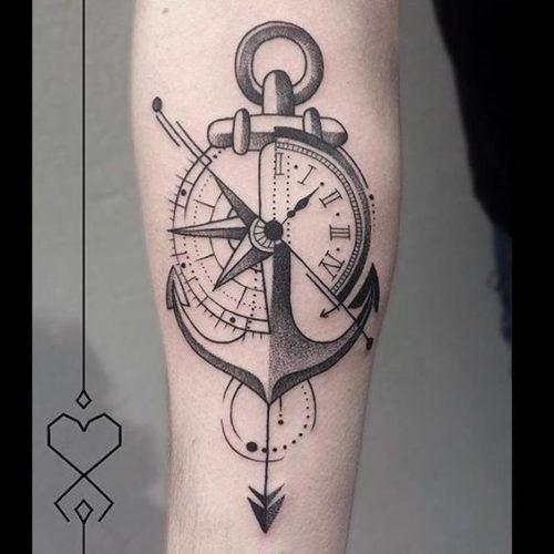 Tatuajes De Brujulas Estilos Mujer Hombre 239 Fotos Tatuajes De Anclas Tatuajes Brujula Tatuaje De Flecha Y Brujula