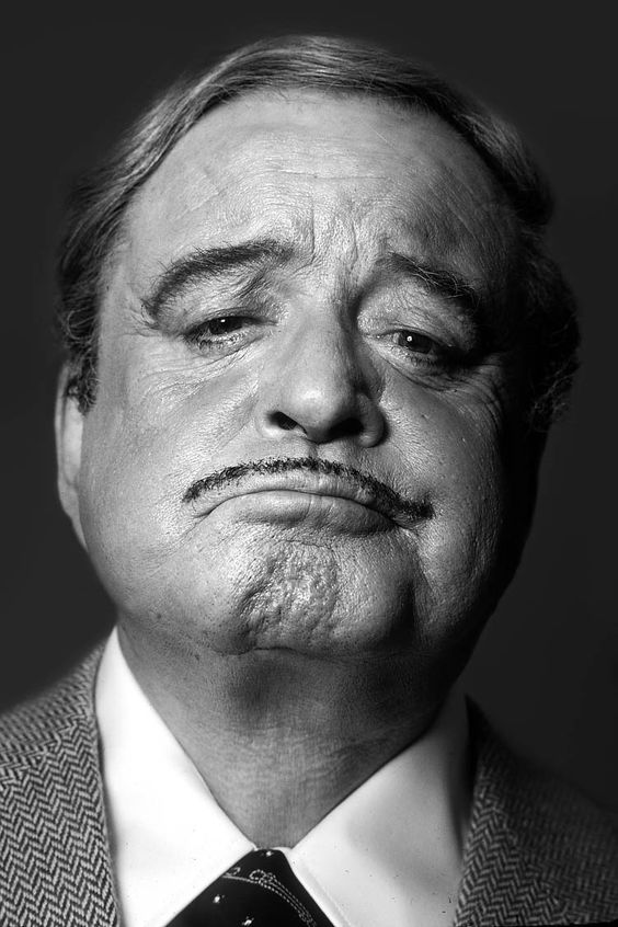 Jackie Gleason (1916-1987) - American comedian, actor, and musician. Photo by Brian Hamill