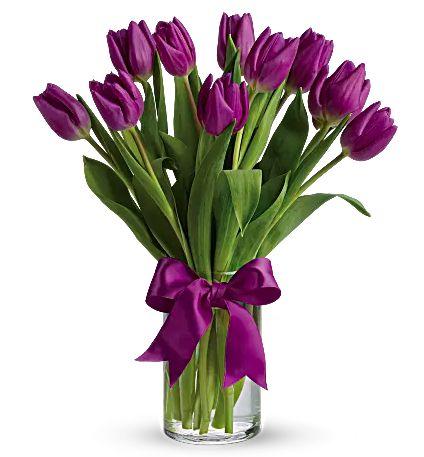 10 Stemmed Tulips