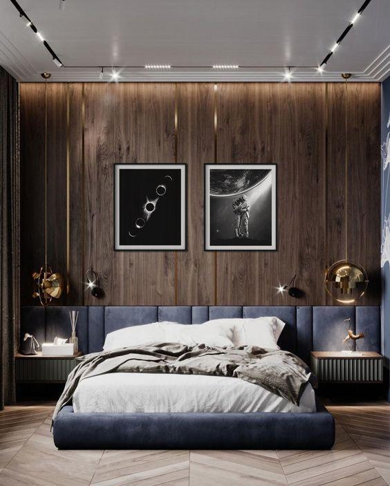 Tips decor phòng đẹp sử dụng miếng xốp dán tường 4