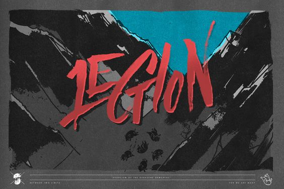 """""""Legion of Demons"""" by Nate Utesch from the Old & New Bible design project."""