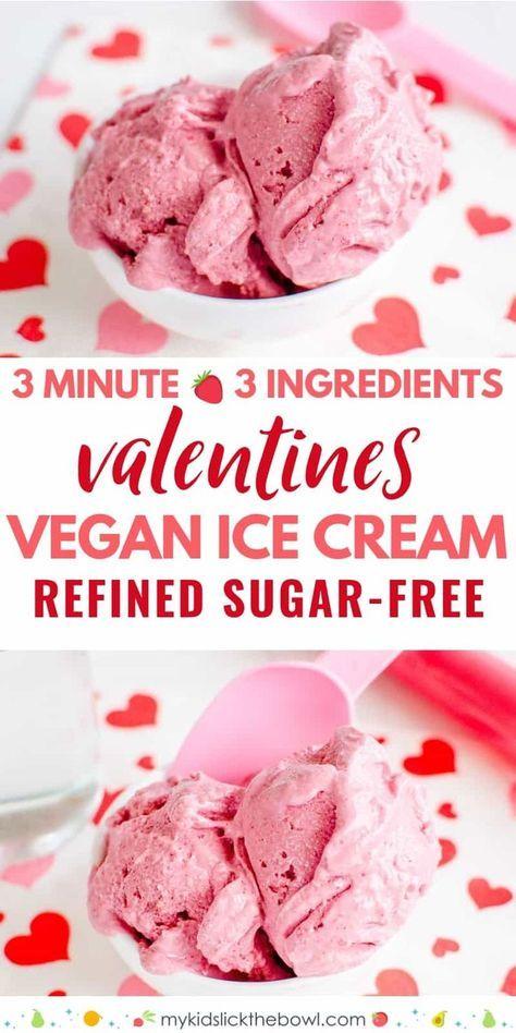 So Easy To Whip Up This Dairy Free Ice Cream Recipe In 2020 Vegan Strawberry Ice Cream Vegan Ice Cream Vegan Ice Cream Recipe