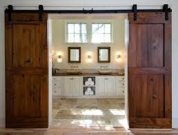 indoor barn doors...have been looking for a double door version :)