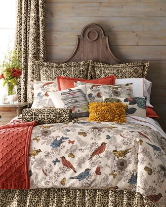 quote:  Birds & Butterflies Bedding by Horchow