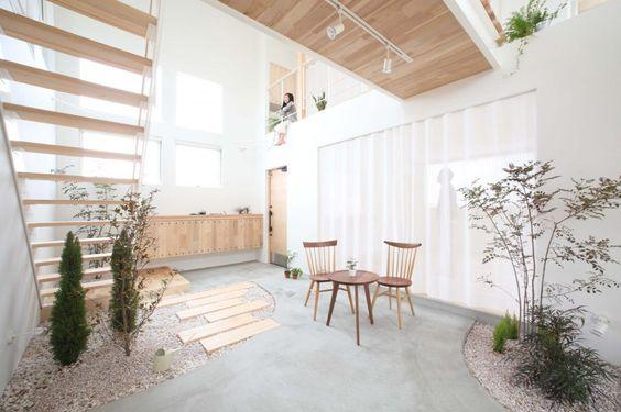 Kofunaki house: Interior Design, Japanese House, Indoor Garden, Design Offices
