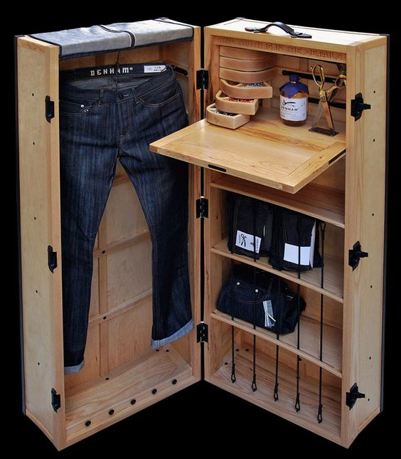 Method Trunk For Denham Custom Jeans: