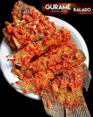 Resep Gurame Balado Resep Masakan Resep Resep Ikan