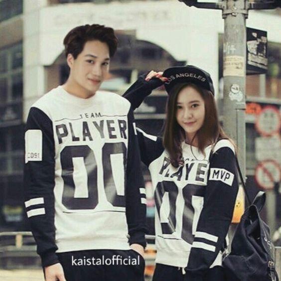 Kai and krystal #kaistal #exo #fx