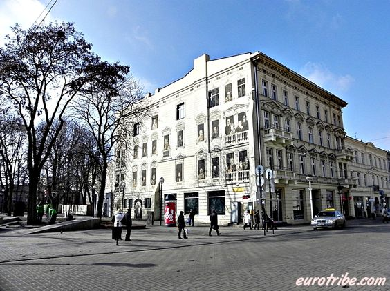 Piotrkowska street Lodz, Poland