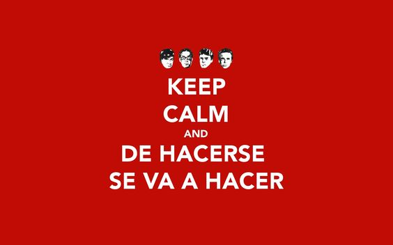 Keep Calm and De Hacerse se va a hacer (Fome-1997)