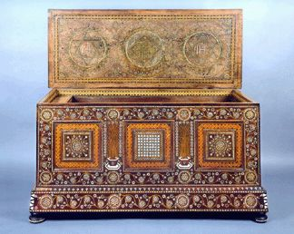 Cassone, marriage chest,northern Italy