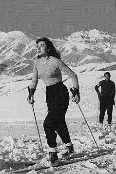 Princess Fatemeh Pahlavi.