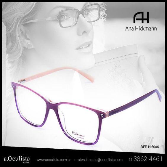 Armações modernas para todos os gostos!  Clique https://goo.gl/qLK0LA e compre em até 10x sem juros  #aoculista #glasses #sunglasses #anahickmann