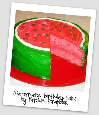 Polka Dot Birthday Supplies, Decor, Clothing: Summer Party Themes - Polka Dot Watermelon