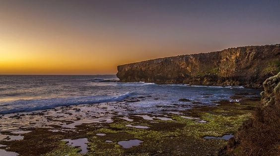 """Sun setting on the cliffs of """"backyards"""" near Lake Gillear Warrnambool.  #aussiephotos #focusaustralia #sky_painters #sky_perfection #sky_sultans #warrnambool #wow_australia #destinationwarrnambool #visit12apostles #greatoceanroad #seegor #picoftheday #igdaily #instadaily #exploreaustralia #epic_captures #ig_sharepoint #sunset_hub #sunset_vision #amazing_australia #dream_image #wow_australia #visitvictoria #admireaustralia #seeaustralia #icu_sunset #australiagram #jaw_dropping_shots…"""