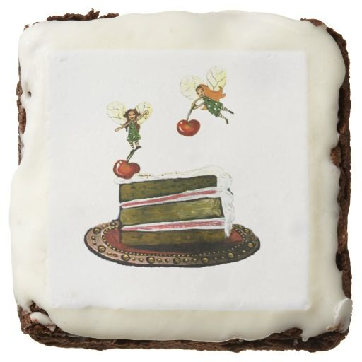 No tea-party is complete without some fairy brownies! #birthdayparty #brownies #cake