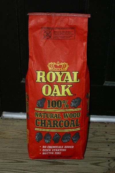 Review of Royal Oak Lump Charcoal -- No chemicals charcoal sold in Walmart