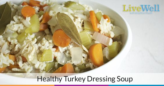 Breathe new life into your Thanksgiving Day leftovers with this delicious turkey dressing soup!