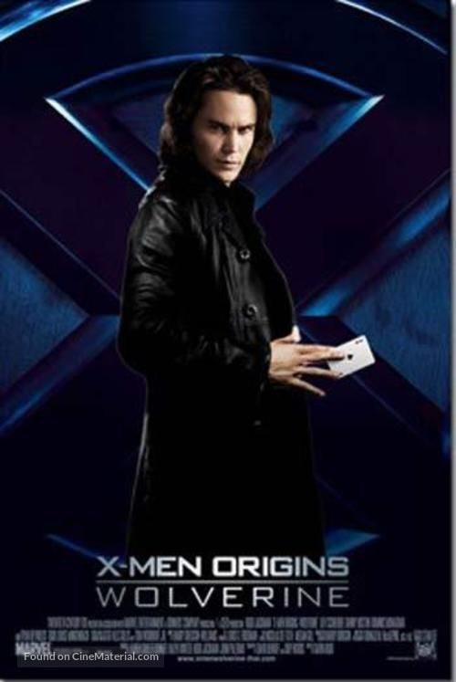 X Men Origins Wolverine 2009 Movie Poster In 2020 X Men Taylor Kitsch Xmen Movie