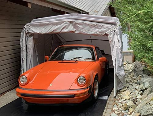 Ikuby All Weather Proof Medium Carport Car Shelter Car Canopy