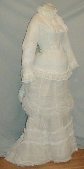 late 1870s summer white