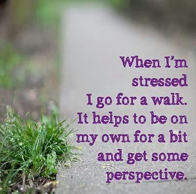 Stress can bring on or intensify mental health problems such as depression, i like to go for a walk when stressed as it really does help.