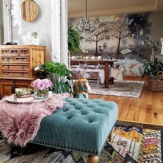 7 Bohemian Interiors For A Darling Spring Boho Style Furniture