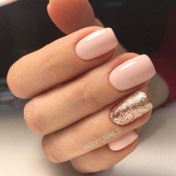 67 Acrylic Gel Nail Art Design Ideas For Summertime Mauve Nails