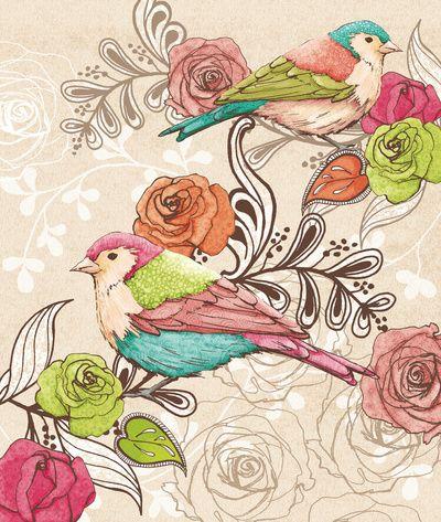 Country Garden  by Amanda Dilworth | #illustrator #illustration #art #color #paint #ilustração #arte #sketch #sketchbook #rough #wip #cartoon