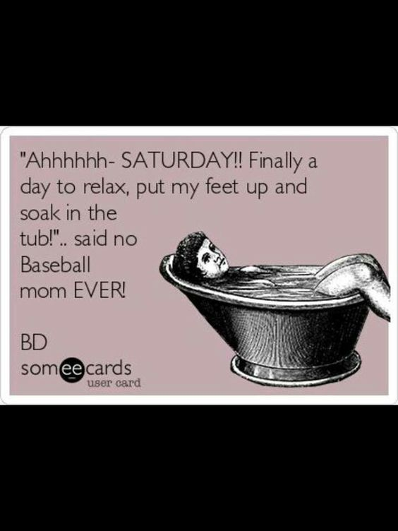 Can't flippin wait! Be much nicer to spend Saturdays in the park instead of a gym with basketball that's for sure!
