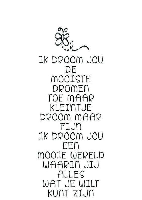 Kaart met gedicht Ik droom jou: