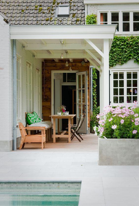 Veranda uitbouw huis veranda 39 s pinterest decks tuin en pleinen - Huis met veranda ...