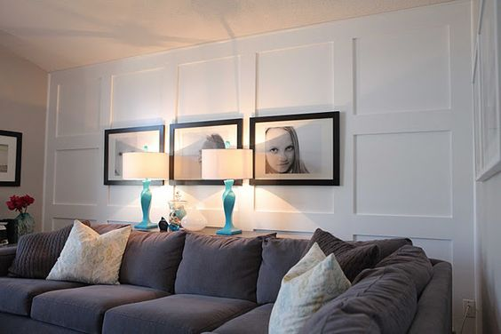 Board And Batten Basements And Living Rooms On Pinterest