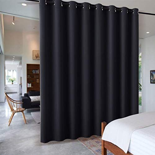 New Ryb Home Extra Wide Long Curtain Privacy Office Space Divider