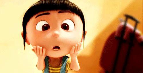 Agnes!!!  (Despicable Me)