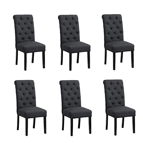 Fabric Dining Chairs, New Padding For Dining Room Chairs