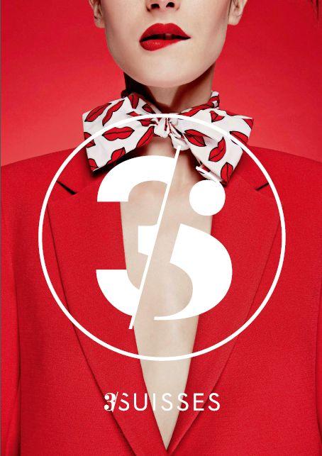 Un nouveau logo pour les 3 Suisses | http://blog.shanegraphique.com/refonte-logo-3-suisses/
