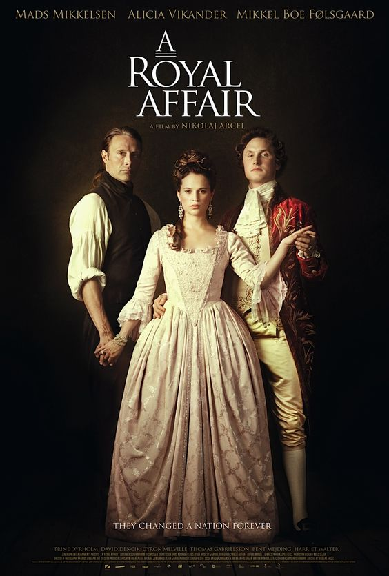 """I saw A Royal Affair [2012] yesterday. A really compelling story with excellent performances by the leads, most of whom aren't big names (but should be). It's a profound alternative to the """"monarchy love-story"""" genre that caters largely to American vanity."""