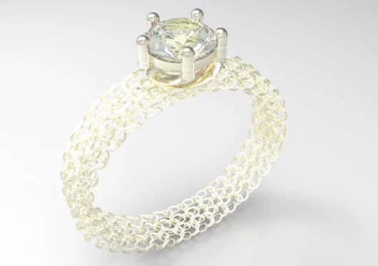 chain ring / anel de correntes