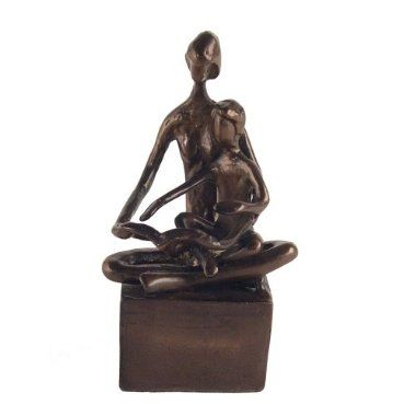 Mother & Child Reading Sculpture, $59.99...have something similar to this but with Mother & Baby