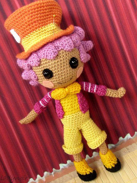 Mad Hatter Amigurumi : Lalaloopsy Mad Hatter crocheted Flickr - Photo Sharing ...