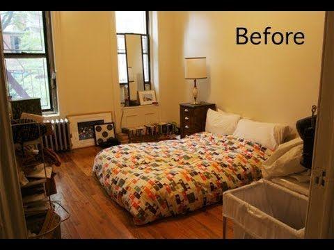 Top 40 Smart Redecorating Bedroom Design Ideas Small Bed Room Makeover Diy Ikea Remodel 2018