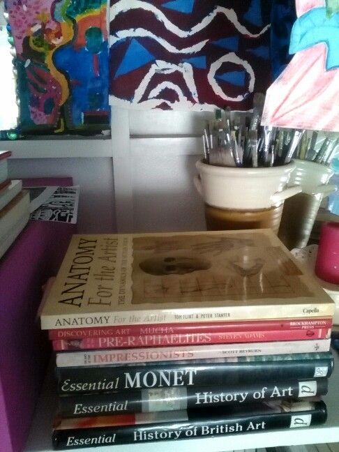 My Studio love books you have to learn and grow and test yourself each and every day